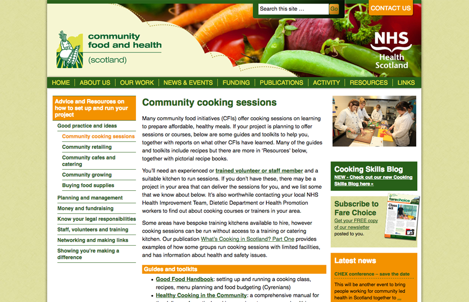 Community Food & Health