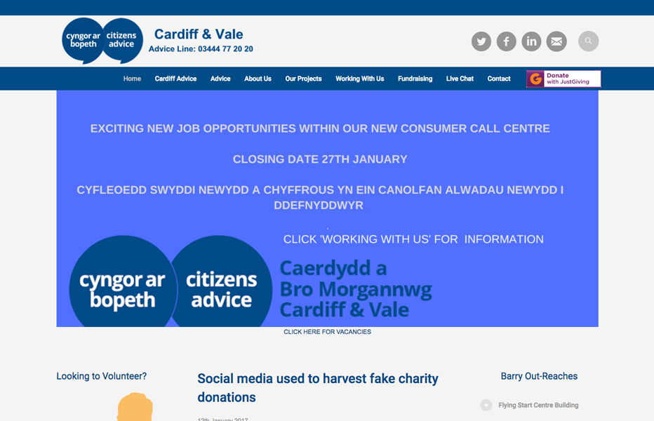 Cardiff & Vale Citizen's Advice